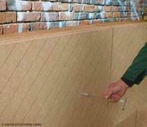 Aplikace drevovlaknitych desek Udi pri izolaci vnitrnich obvodovych sten rodinneho domu