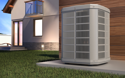 Air,Heat,Pump,And,House,,3d,Illustration